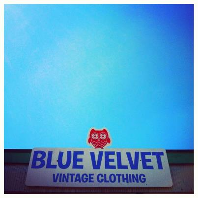 blue velvet tx blue velvet the best little vintage store in texas. Black Bedroom Furniture Sets. Home Design Ideas